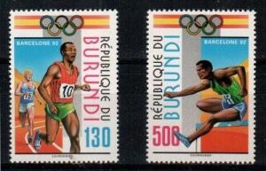 Burundi Scott 695-6 Mint NH (Catalog Value $17.50)