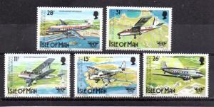 Isle of Man 262-266 MNH