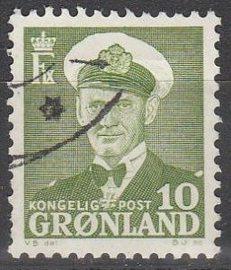 Greenland #30 F-VF Used (S356)