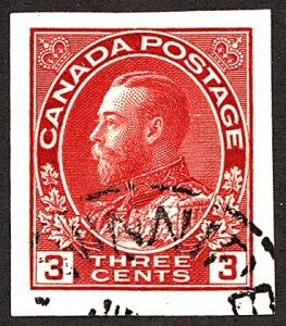 Canada #138 Used