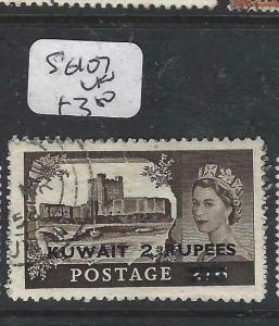 KUWAIT (P1804B)  ON GB  QEII  2R/2/6   SG 107  VFU