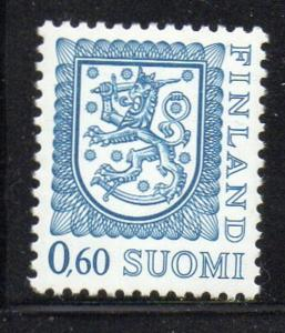 Finland Sc 560a 1988 .6m Coat of Arms stamp perf 13 x 12 1/2 mint NH