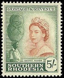 Southern Rhodesia  - 92  - Unused - SCV-11.00