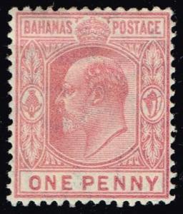 Bahamas #45 King Edward VII; Unused (32.50)
