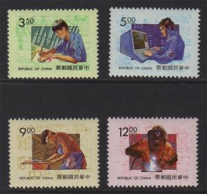 Taiwan Stamp Sc 2907-2910 Morder Technique MNH