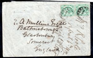 Cape of Good Hope KEVII 1912 Postal History Cover re forwarded to UK WS15023