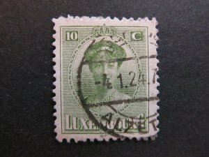 A4P26F46 Letzebuerg Luxembourg 1921-26 10c used