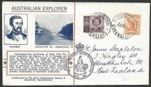 AUSTRALIA 1948 Kennedy / Cooktown Centenary cover..........................47034