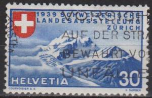 Switzerland #252 F-VF Used CV $8.25 (B8529)