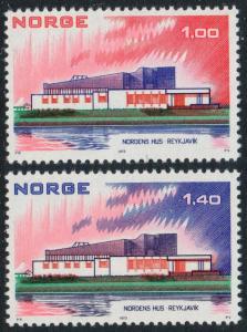 Norway 617-618 MNH CV $2.75