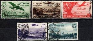 Italy #C84-88  F-VF Used CV $634.00 (X3084)