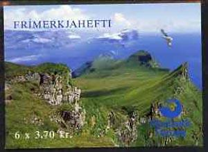 Booklet - Faroe Islands 1991 Birds 22k20 booklet complete...
