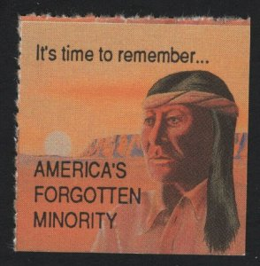 United States - Americas Forgotten Minority American Indians -  BARNEYS
