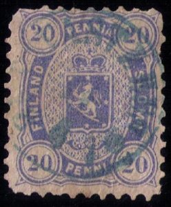 FINLAND SCOTT #21 USED VERY FINE