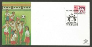 1990 Scouts Guides Indonesia National Children's day FDC