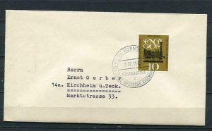 Germany 1960 First day Special Cover  Mi 345 3972