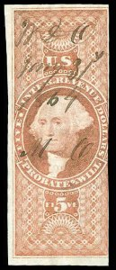 U.S. REV. FIRST ISSUE R92a  Used (ID # 83474)