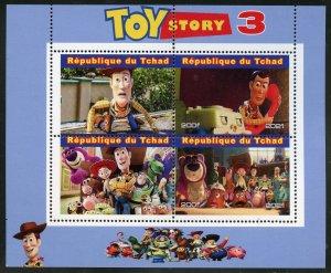 Chad 2021 'Toy Story 3' sheet mint nh