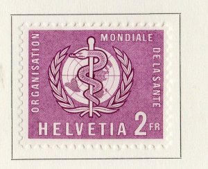 Switzerland Helvetia 1957 Early Issue Fine Mint Hinged 2F. NW-170858