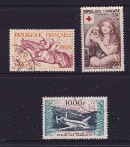 France x 3 good items,Charity & Air