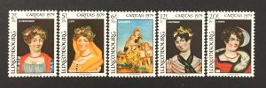 Luxembourg 1979 #B323-7, Paintings, MNH