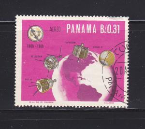 Panama C351 Set U ITU, Space (B)