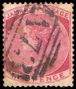 Jamaica Scott 8 Used.