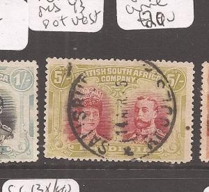 Rhodesia Double Head SG 160 pos 43 vest of king VFU (4dax)