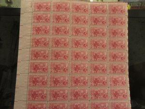 1004  3 CENT BETSY ROSS 1952 OG