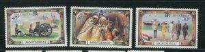 Montserrat MNH 363-5 Silver Jubilee