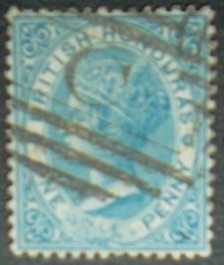 1866 British Honduras QV Scott #1 Used Free US Shipping