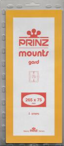 PRINZ BLACK MOUNTS 265X72 (5) RETAIL PRICE $11.50