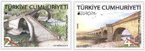 TURKEY / 2018, EUROPA CEPT (BRIDGES), MNH, Mi: 4429/4430