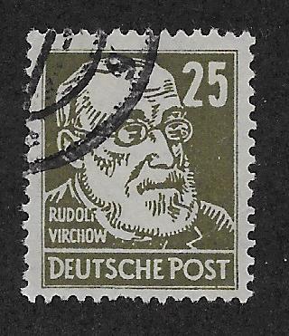 GERMANY - DDR SC# 10N38 FVF/U 1948