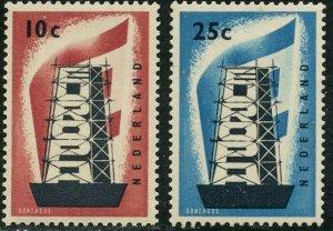 NETHERLANDS Sc#368-9  1956 Europa Mint OG NH Complete