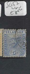MALAYA SELANGOR  (P0702B)  5C  TIGER  SG  52    VFU