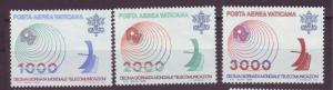 J16198 JLstamps 1978 vatican city set mnh #c63-5 radio waves
