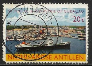 Netherlands Antilles 1965 Scott# 293 Used (corner)