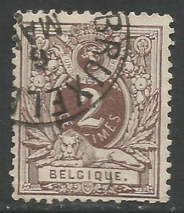 BELGIUM 55 VFU 726C-4