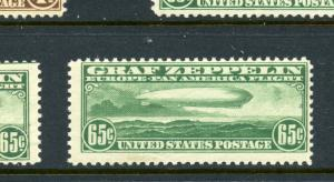 Scott C13 Graf Zeppelin Mint  Stamp NH with PSE Cert (Stock C13-94)