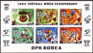 1981 Korea, North 2099-2104KLb 1982 World championship on football of Spain 36,0