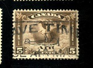 CANADA #C2 USED FVF Cat $28