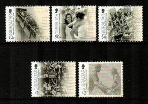 Gibraltar #1470-1474  MNH  Scott $13.50