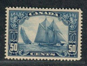 Canada Sc#158 M/LH/VF, Blue Nose Schooner, Cv. $225