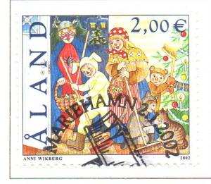 Aland Finland Sc 202 2002 St Canutes Day stamp used