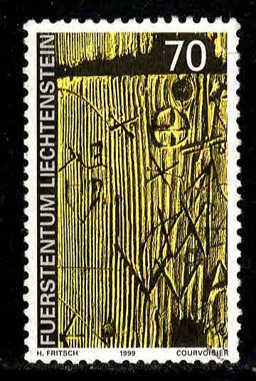 Liechtenstein # 1156 ~ Used, HMR ~ cv .90