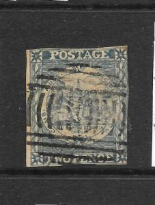 NEW SOUTH WALES 1850  2d   SYDNEY VIEWS   FU  SG 15