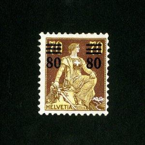 Switzerland Stamps # 189 F-VF OG LH Catalog Value $37.50