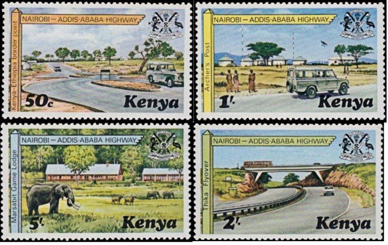 Kenya MNH 94-7 Nairobi Highway Landscape