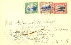 Trinidad 1c First Boca, 2c Agricultural College and 3c Mt. Irvine Bay 1936 Po...